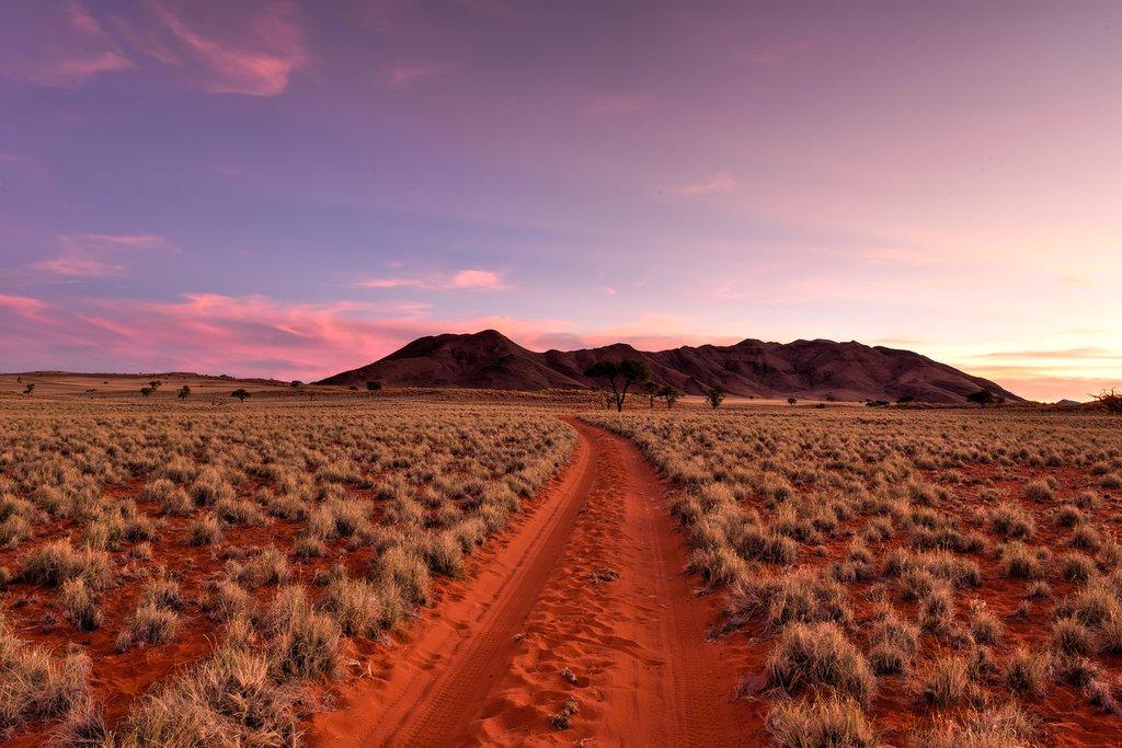 NamibRand Nature Reserve at dusk