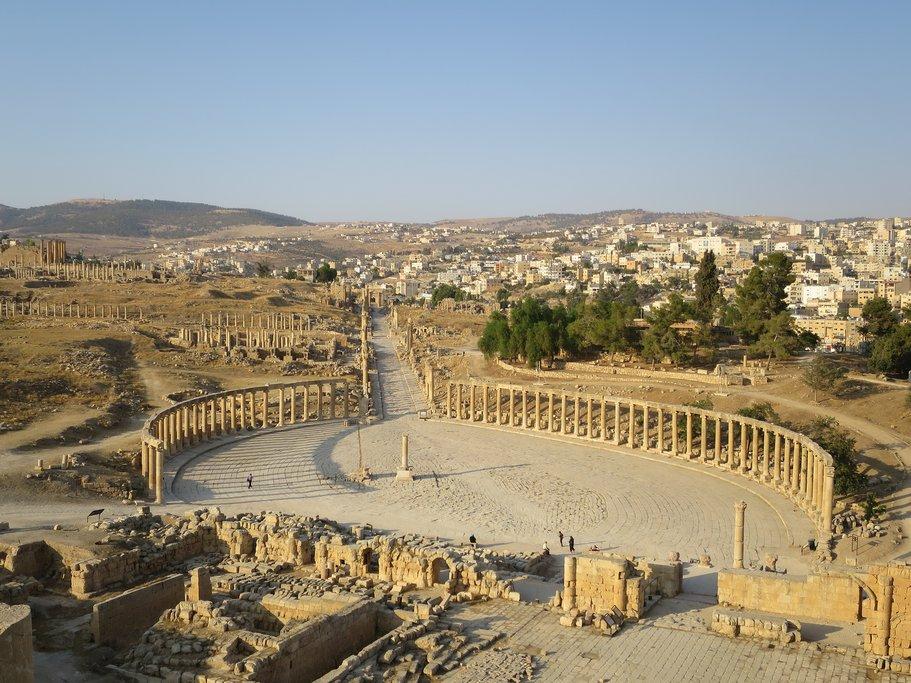 Jordan - Jerash - Roman ruins of Jerash