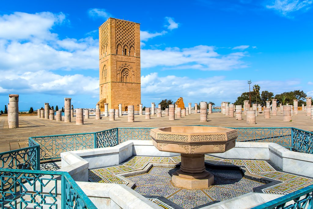 Rabat, Hassan Tower