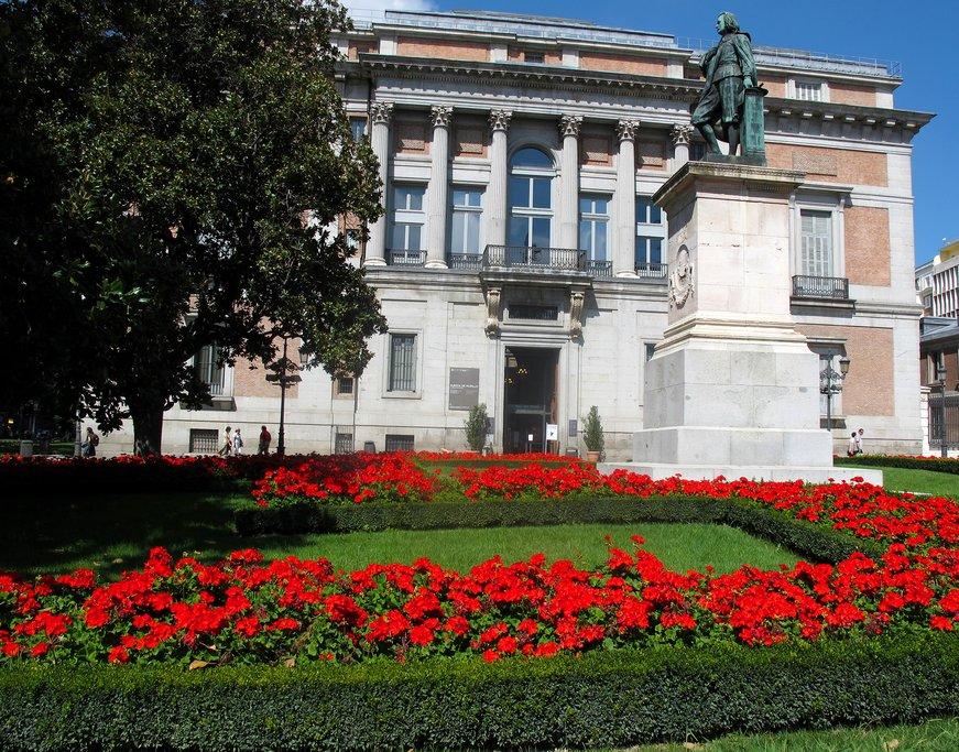 Prado Museum southern entrance