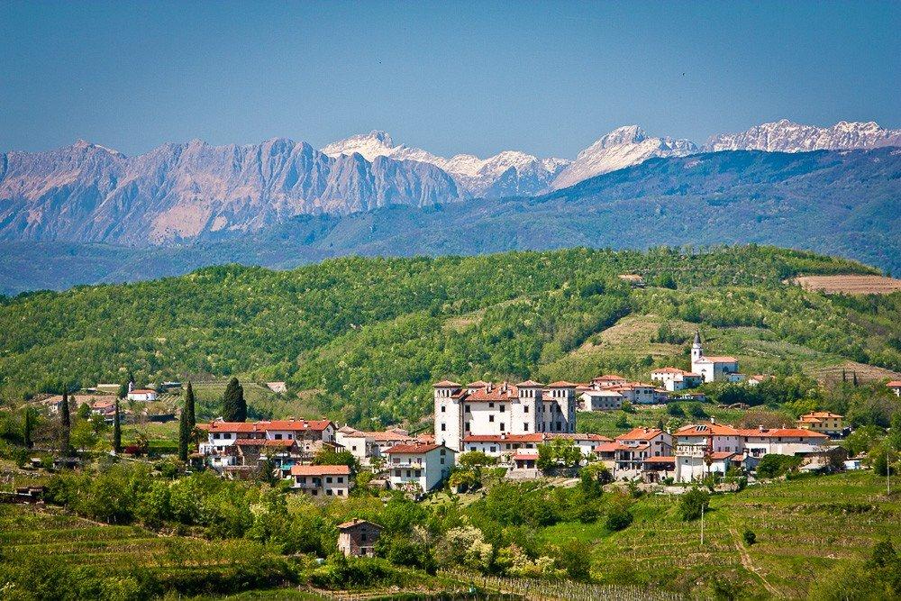 Goriska Brda wine hills