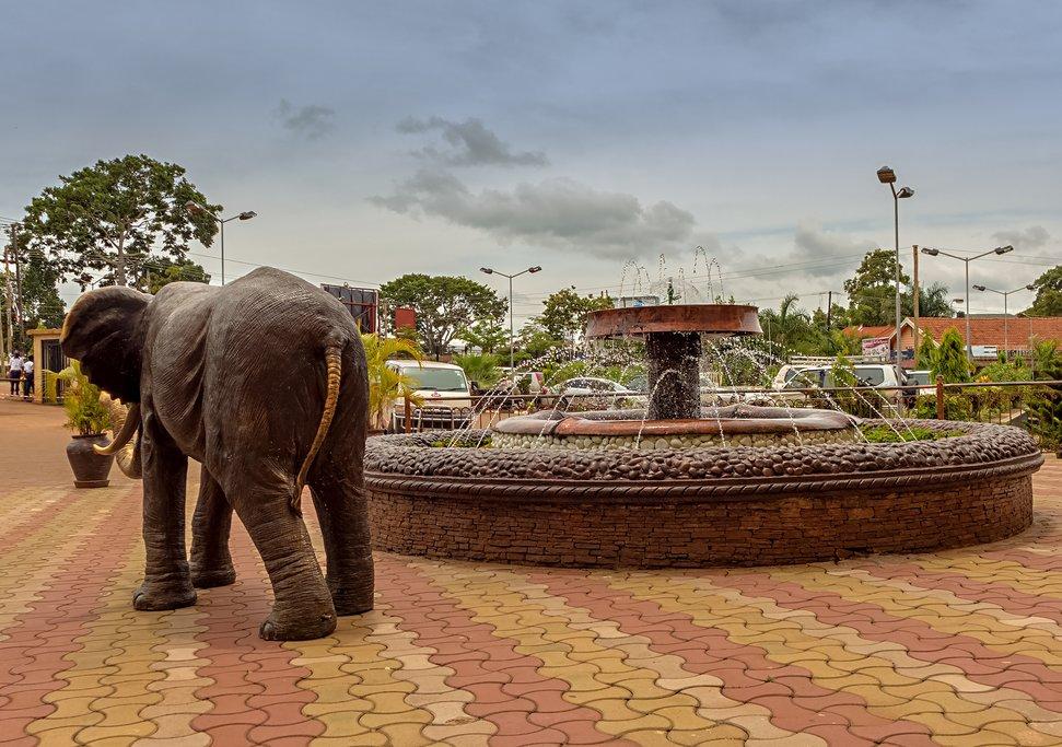 Victoria Mall in Entebbe