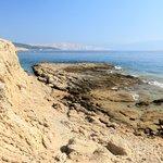 Sandstone beach in Lopar