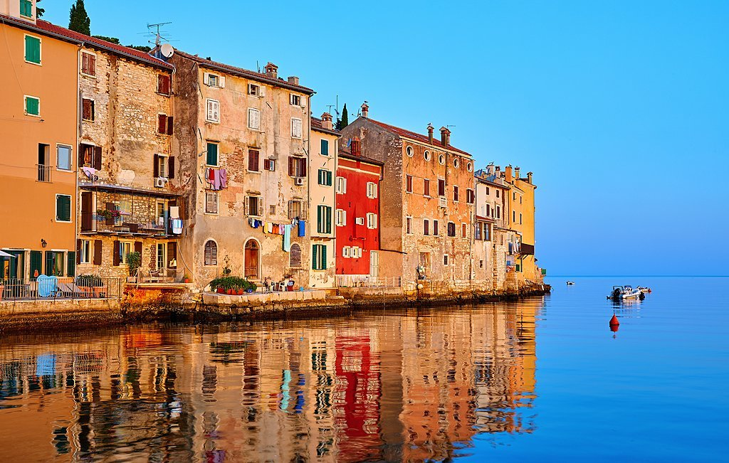 See the colorful city of Rovinj