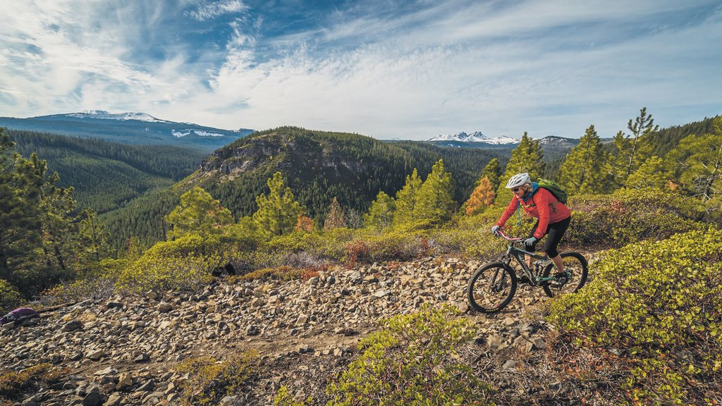 Mountain biking in Bend (Photo courtesy of VisitBend.org)