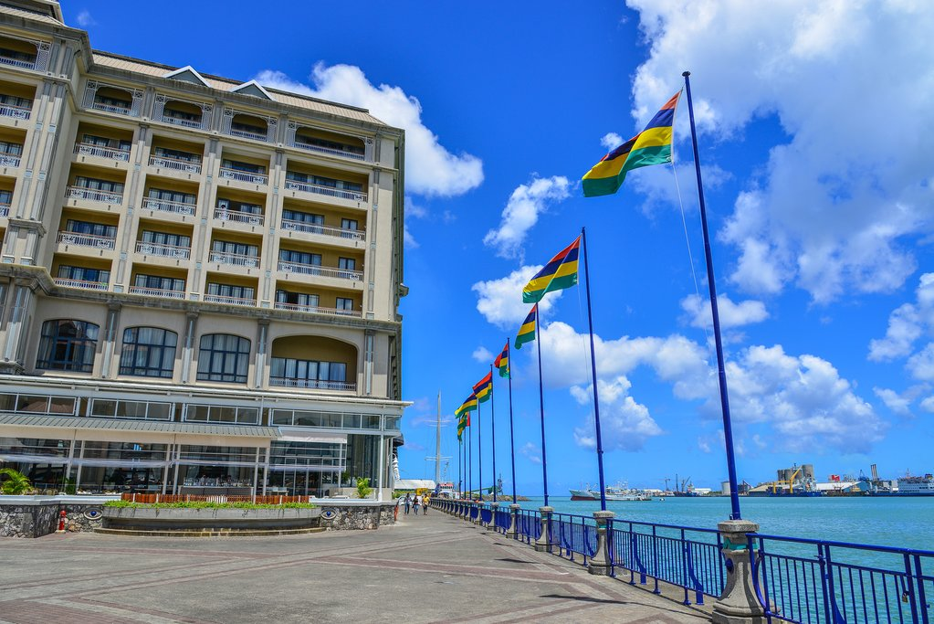 Caudan Waterfront in Port Louis