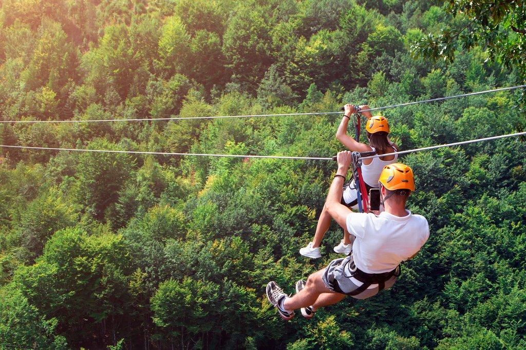 Enjoy an Adventurous Day Zipling