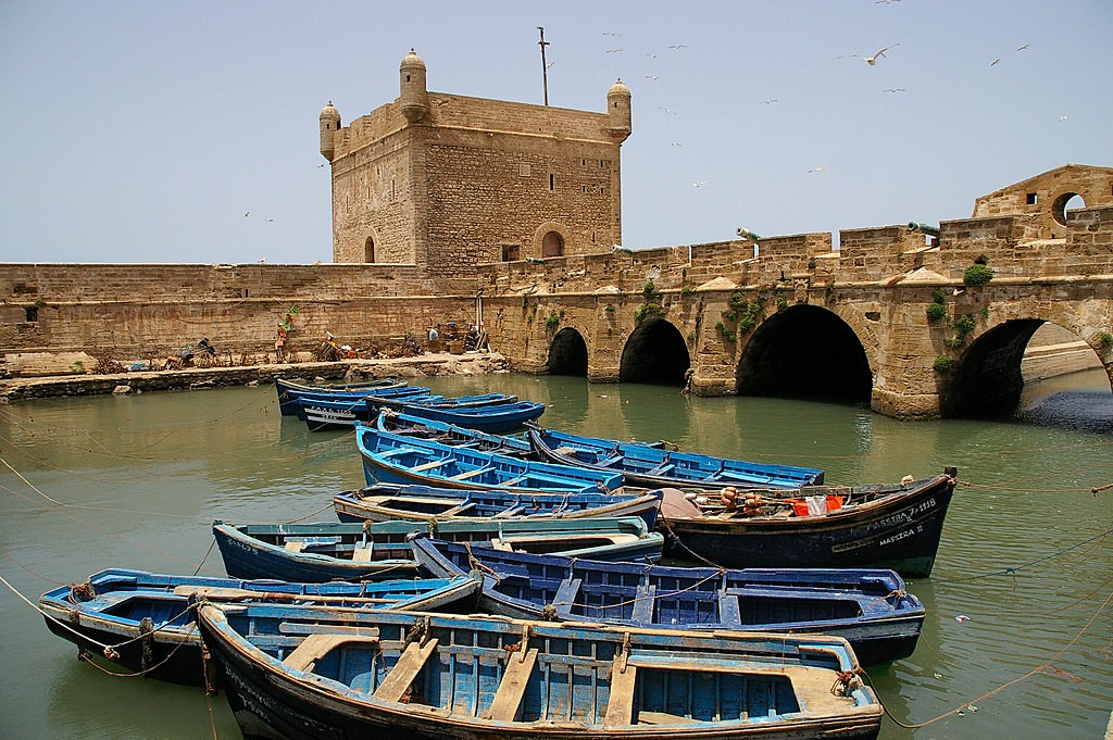 Old fortification in Essaouira