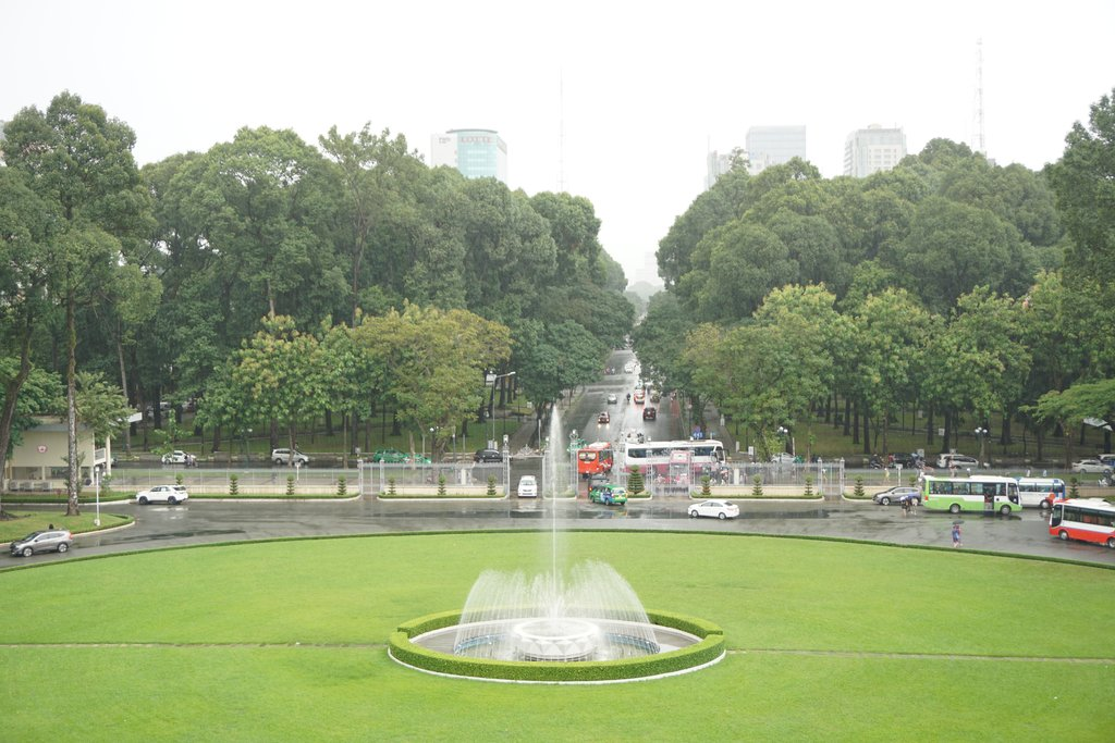 The Reunification Palace is an important place in Vietnam's history