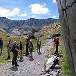 Reaching the petroglyphs of the Vallée des Merveilles