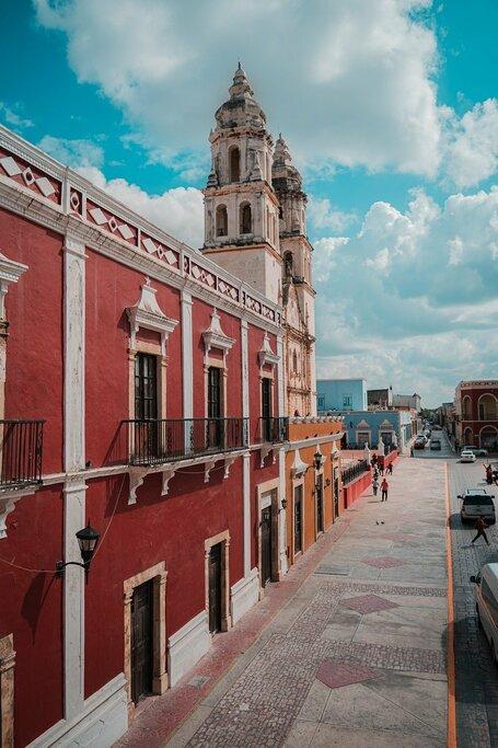 Architecture in Campeche