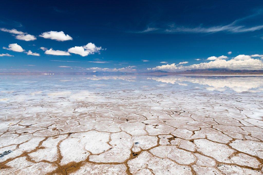 The salt flats of northern Argentina