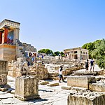 Ruins of the Palaces in Heraklion