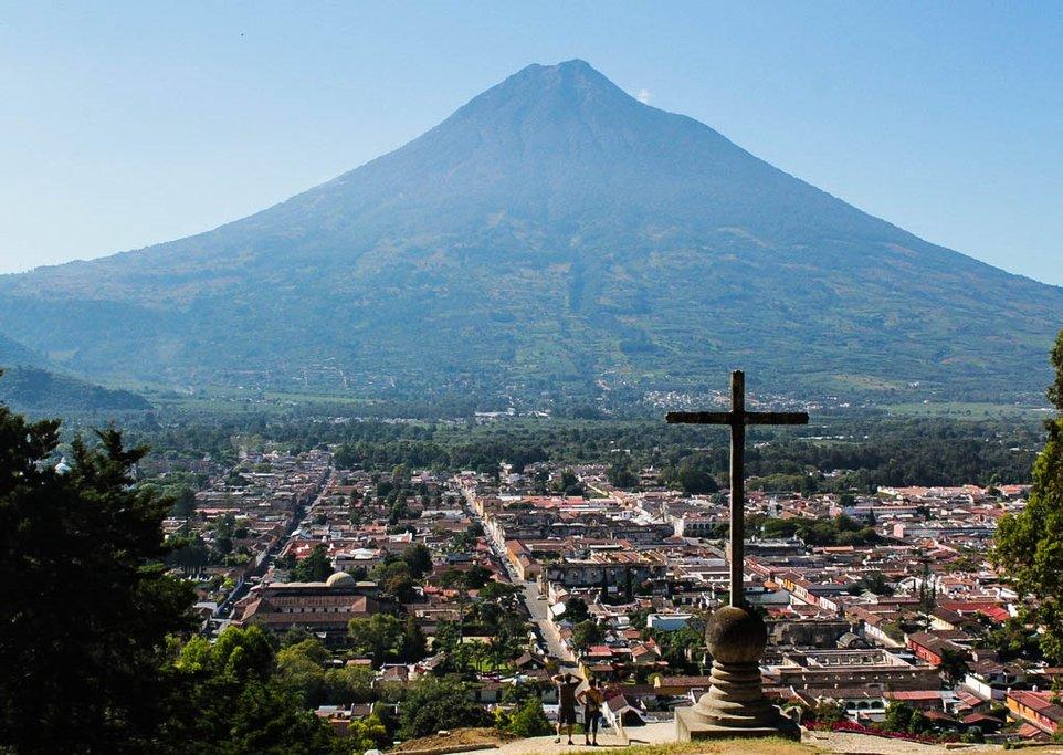 Antigua's volcanic views.
