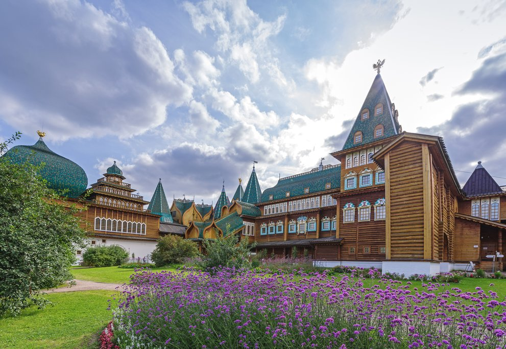 Wooden palace in Kolomenskoye