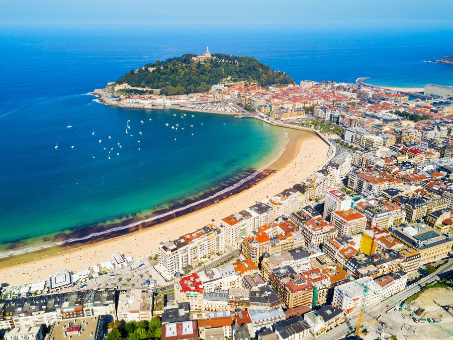 San Sebastian, in Spain's northern Basque country