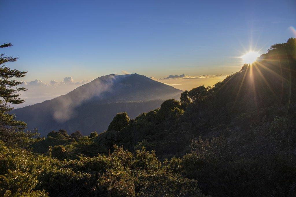 Costa Rica's active Turrialba Volcano