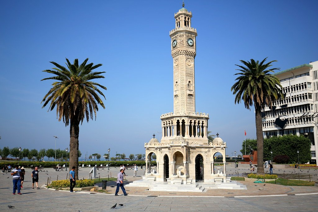 The Izmir clock tower