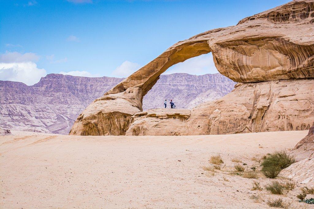 Tour the desert of Wadi Rum