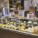 Specialty cheese store in the Mercato Centrale