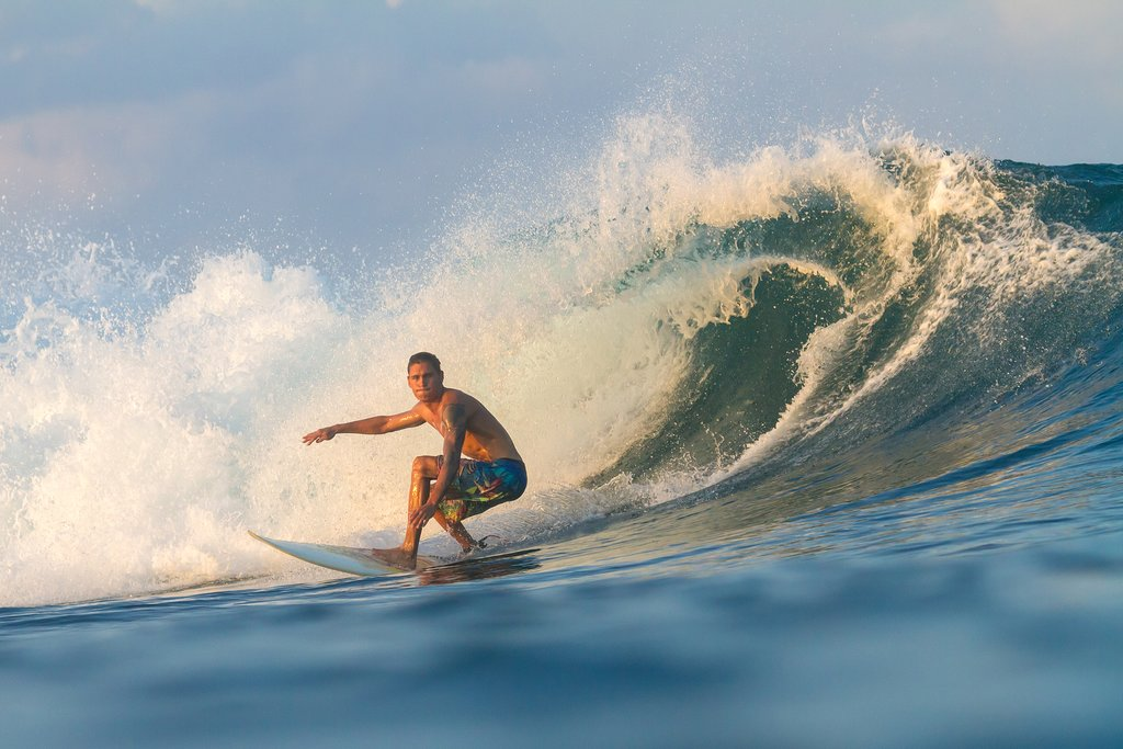 Sumbawa is one of the best places to learn to surf