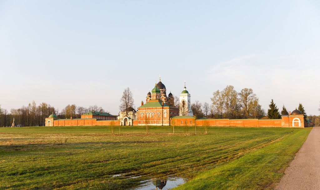 Spaso-Borodino nunnery at Borodino battle field