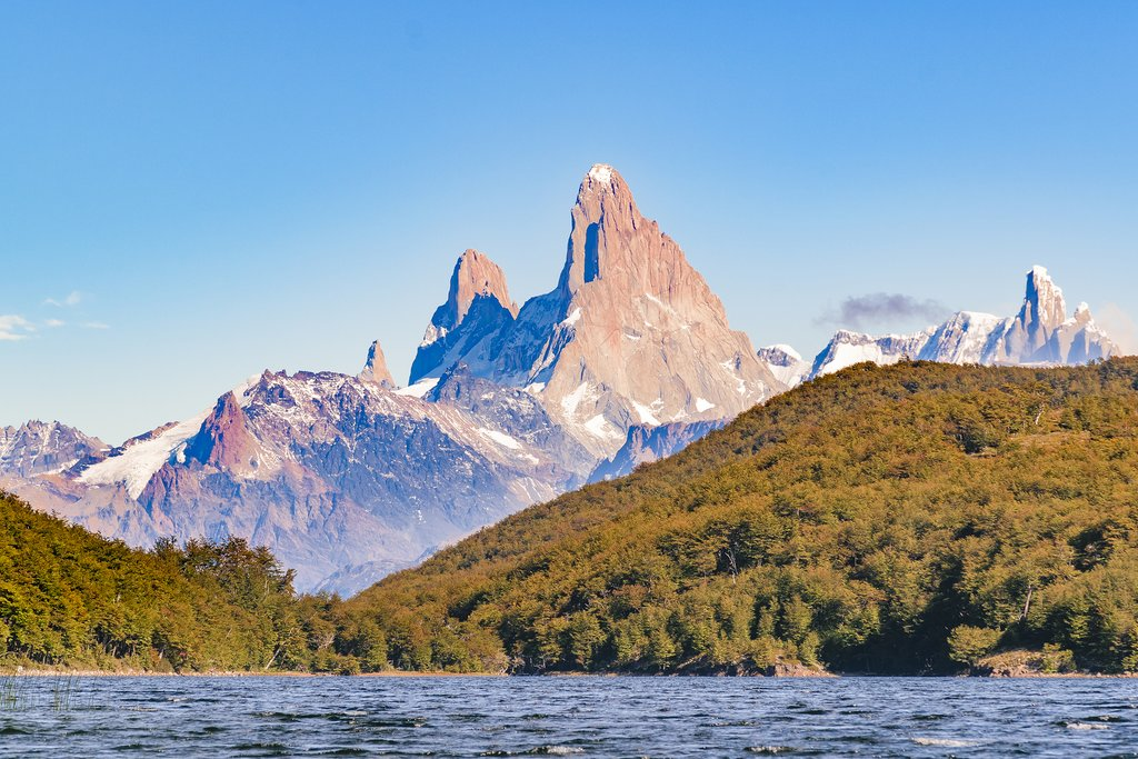 Kayak around the calm waters of Lago del Desierto.