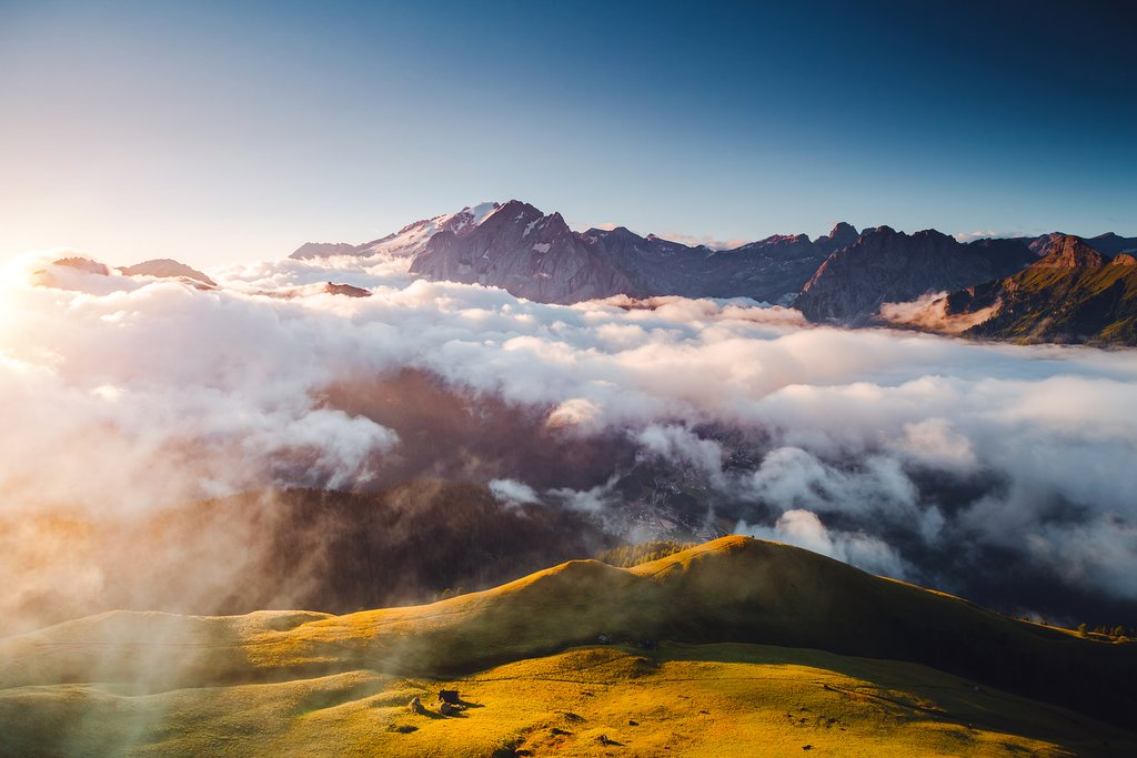 Views from Val di Fassa
