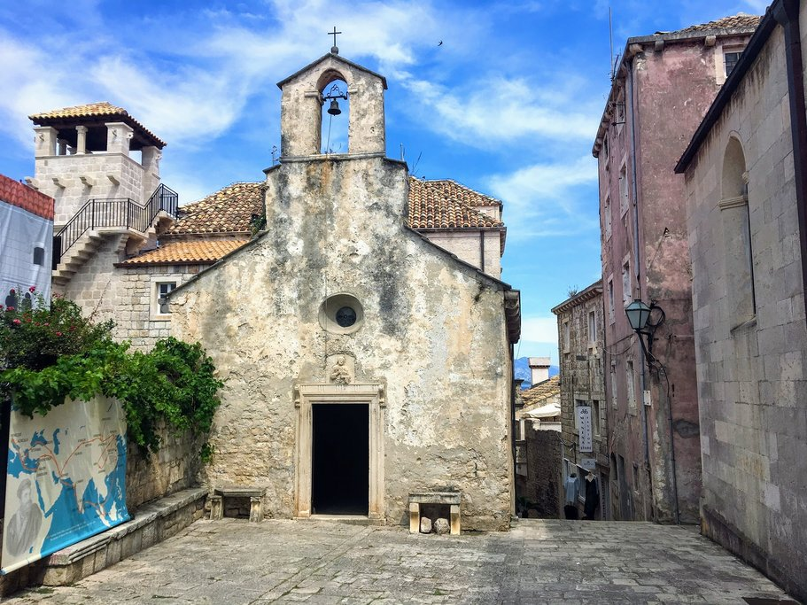 Croatia - Korčula - The alleged house of Marco Polo