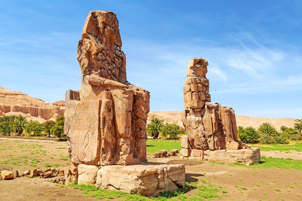 Colossi Memnon west bank luxor
