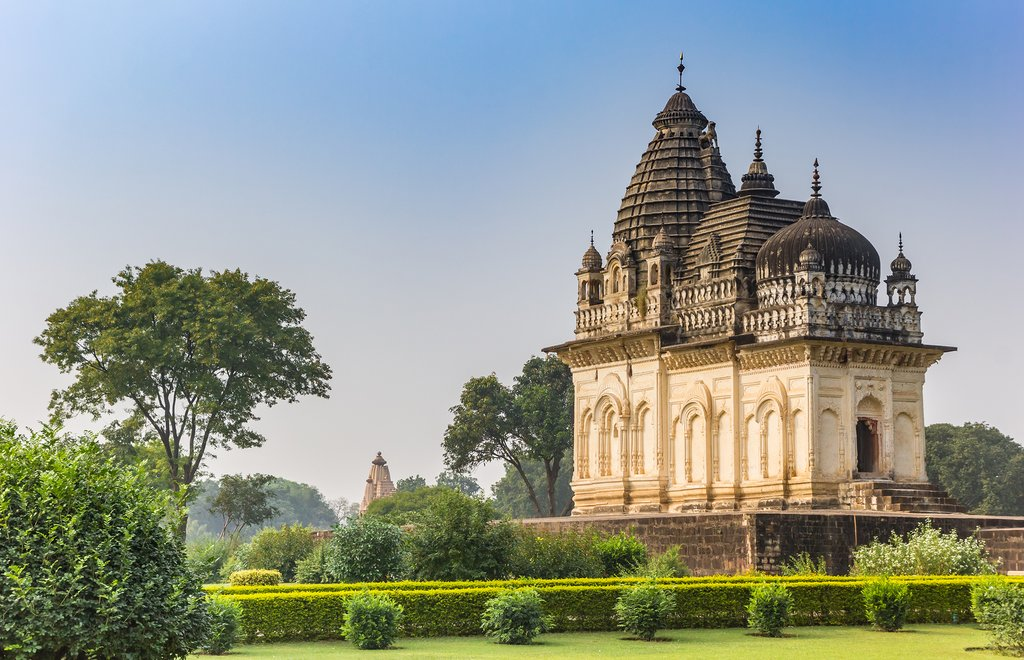 Spend the morning exploring more of Khajuraho's impressive temples