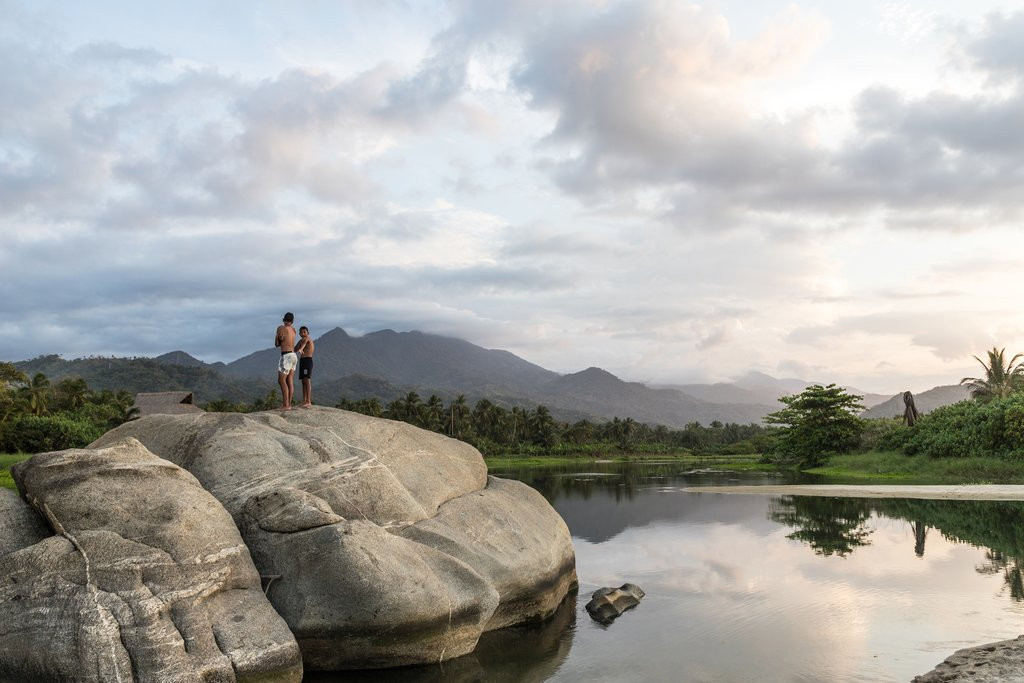 Santa Marta is the gateway city for Tayrona National Park