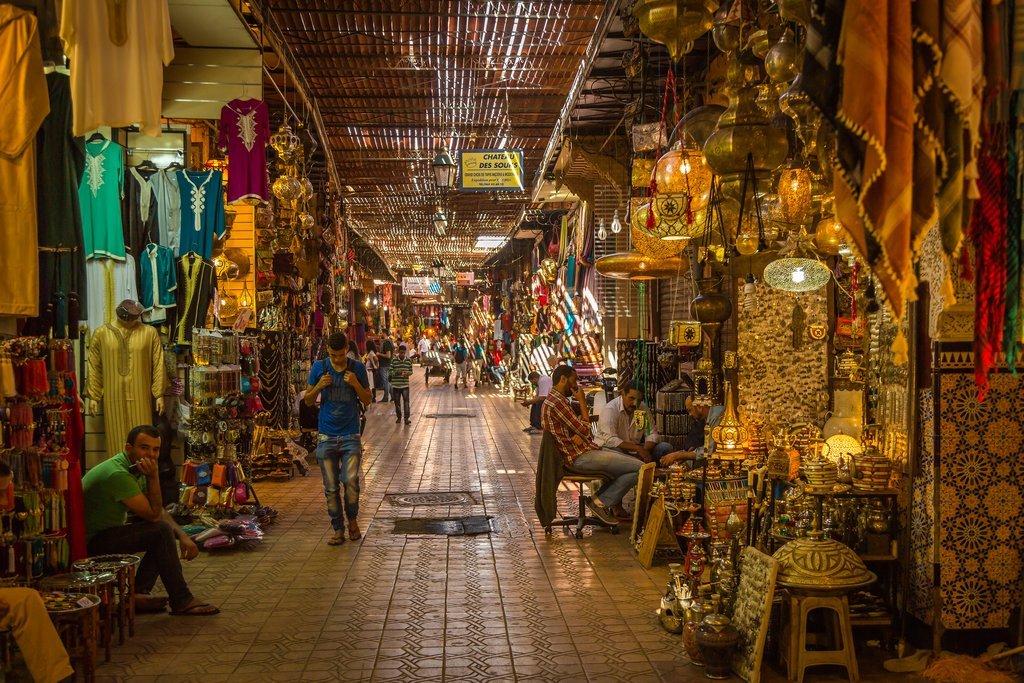 Marrakech's souk