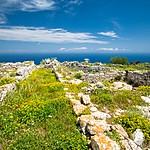 Santorini inland views