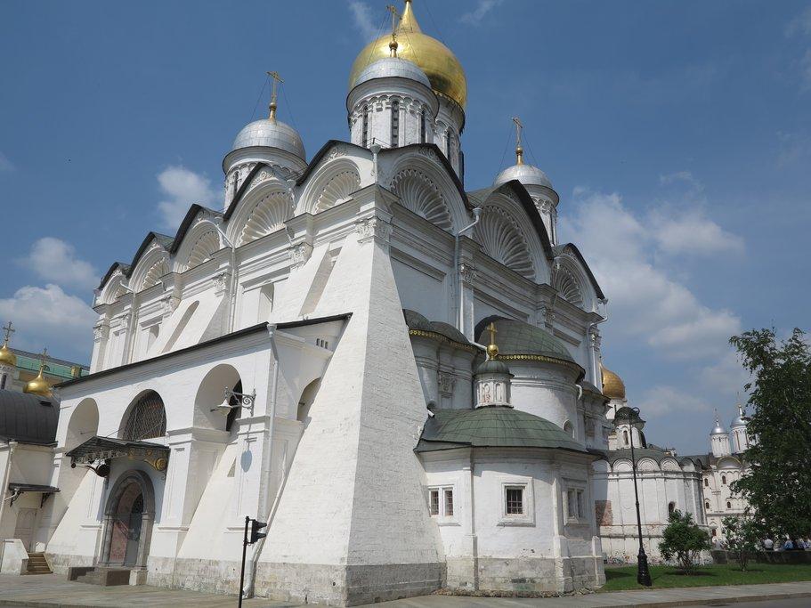 Dormition Cathedral inside the Kremlin