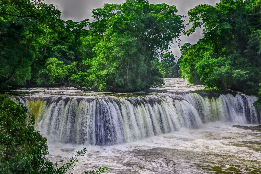 Las Conchas waterfalls