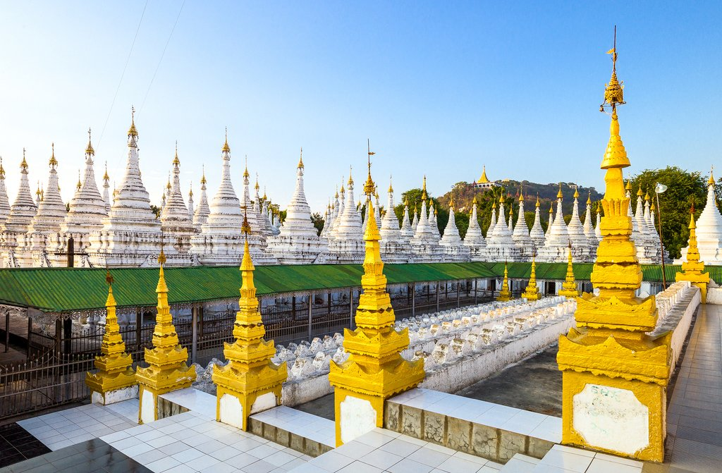 Kuthodaw Pagoda - The World's Largest Book  in Myanmar