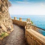 Hiking from Manarola To Corniglia in Cinque Terre