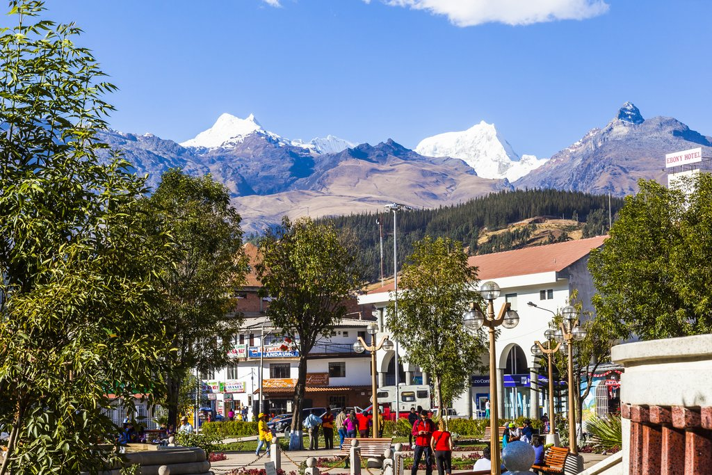 Central Plaza of Huaraz