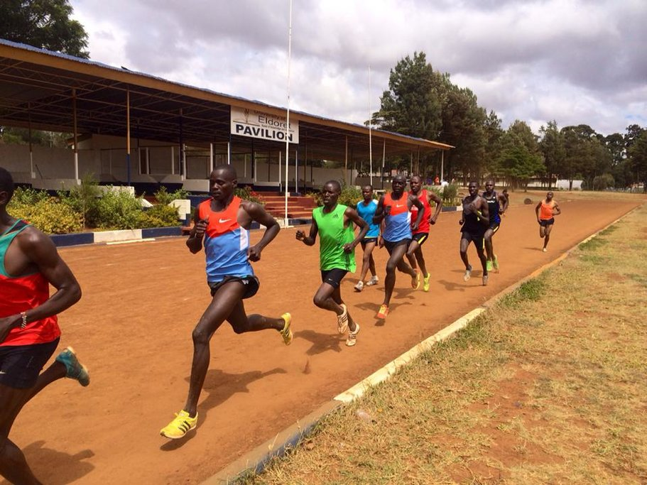 Future gold medalists use Iten's trails to perfect their running talent