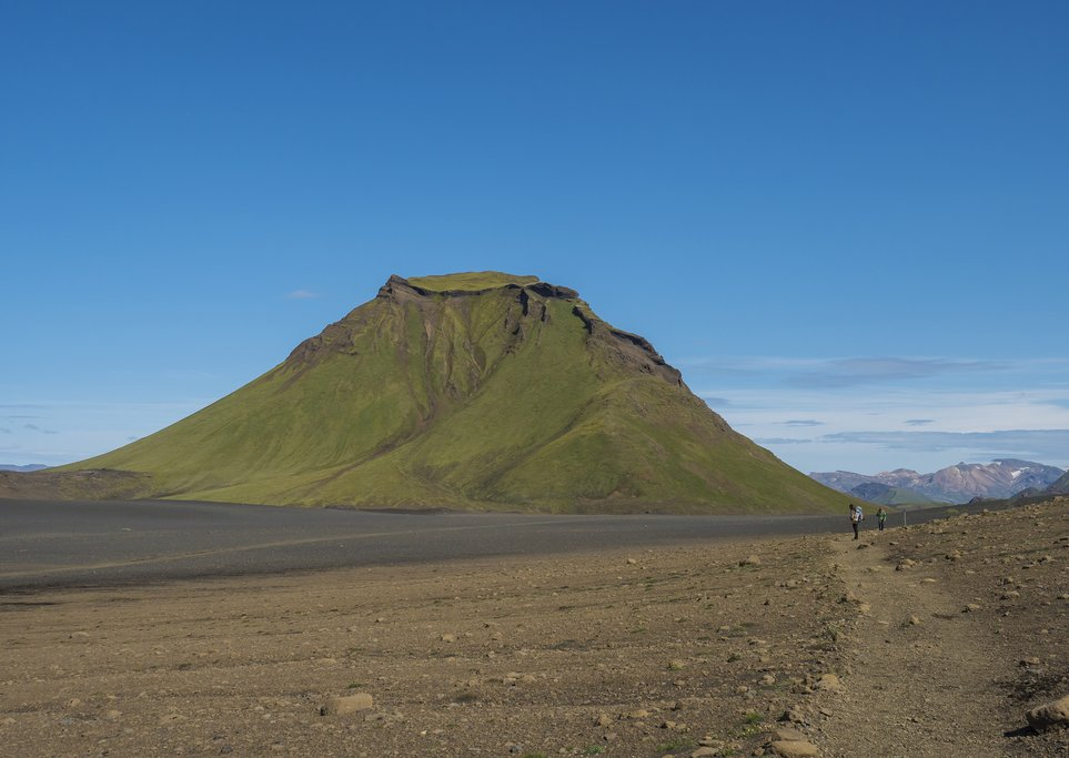The view of Hattafell in the Emstrur Desert