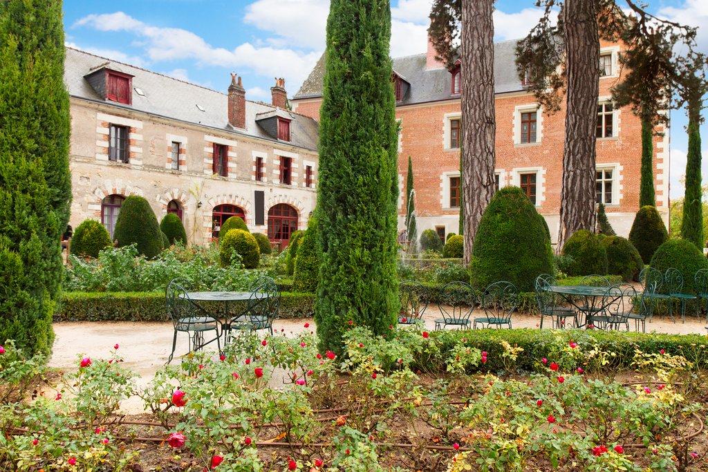 Garden at Clos-Lucé