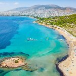 Aerial View of the Athenian Riviera