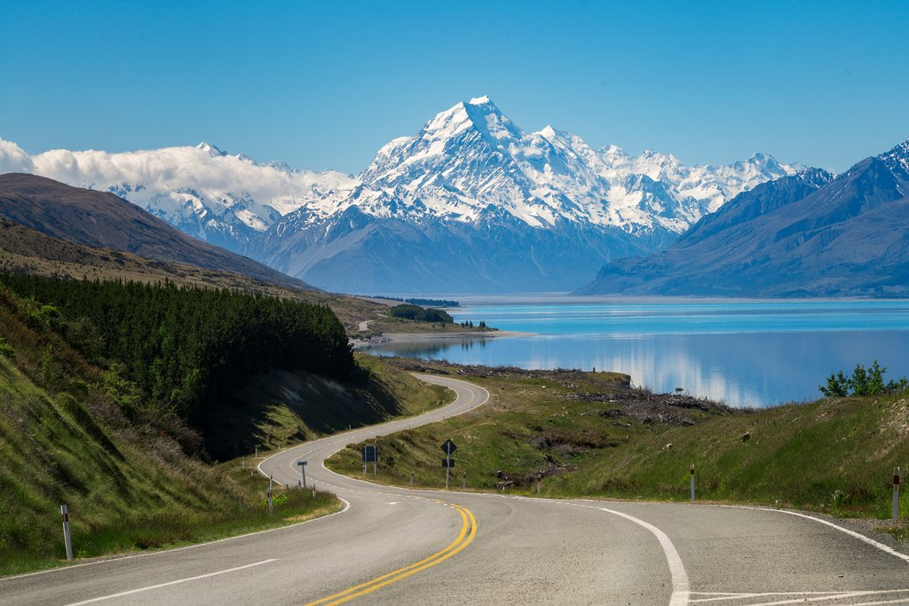 Views of Aoraki/Mt Cook