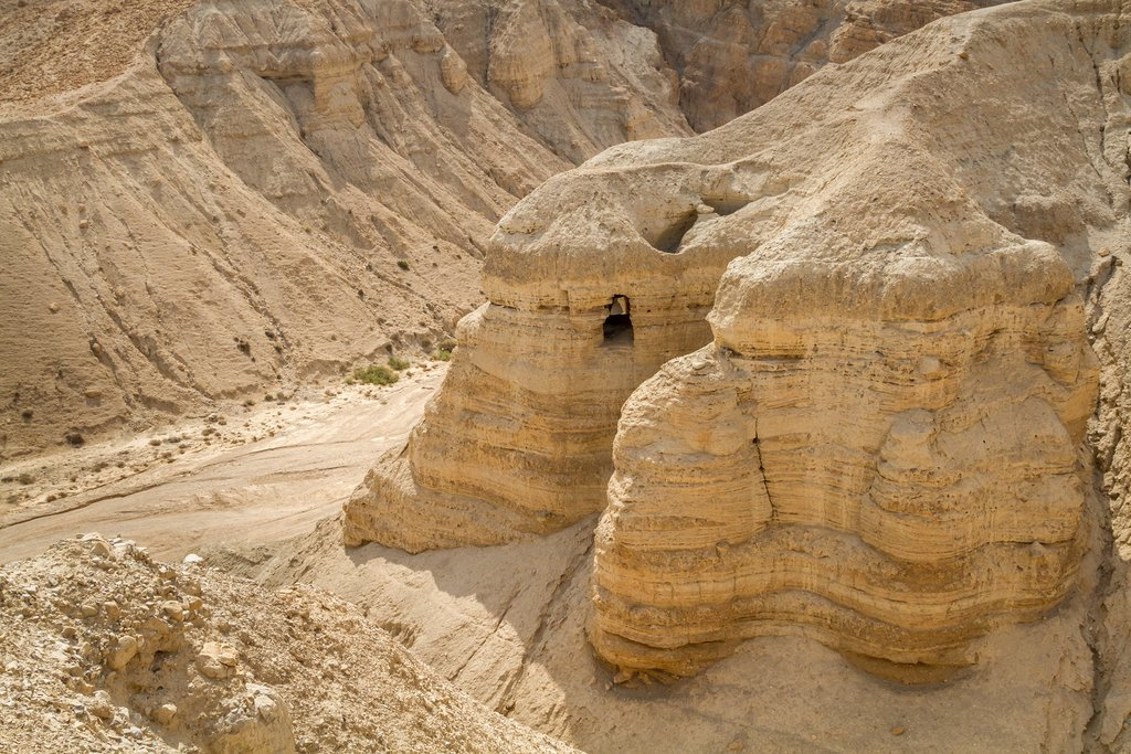 Israel - Qumran National Park - Qumran Caves