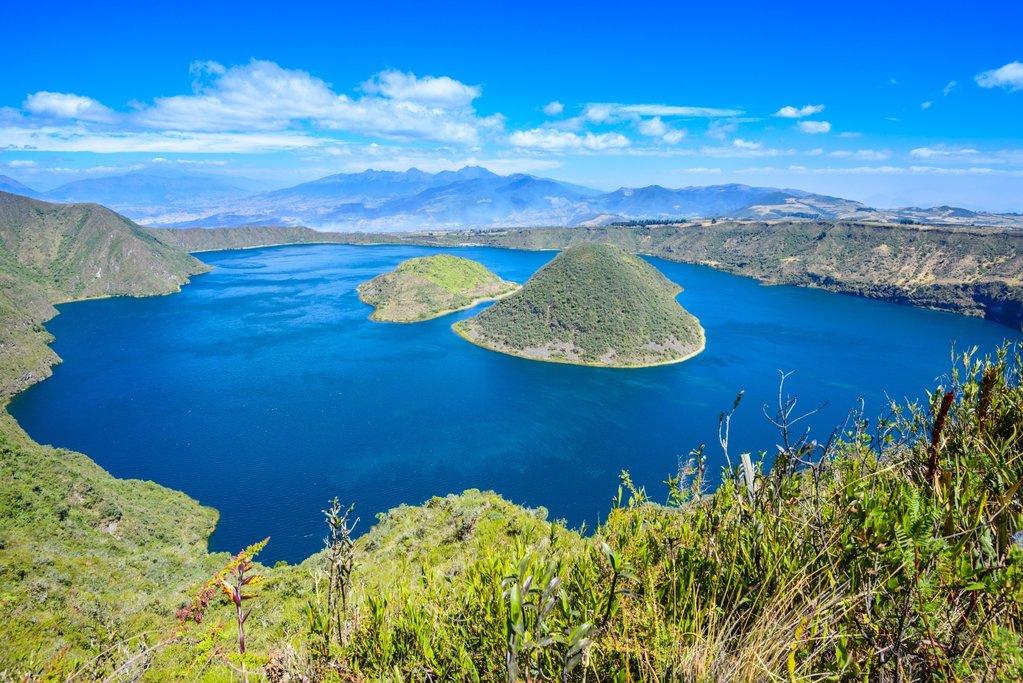 Cuicocha Lagoon