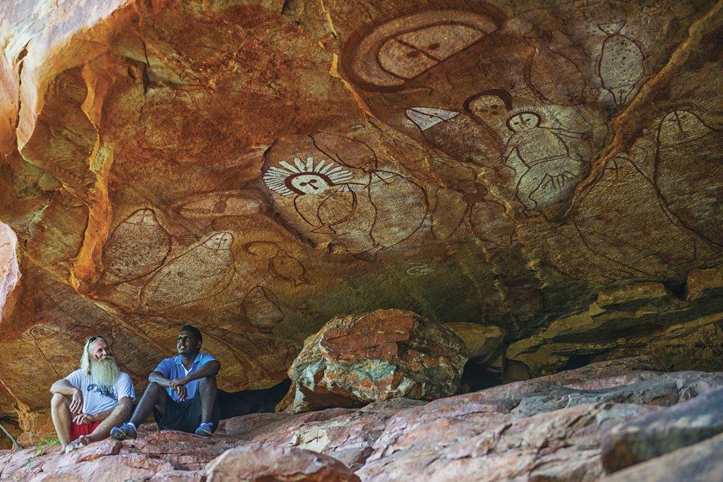 Aboriginal Rock Art ©Lauren Bath