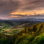 Zagorje region in the autumn