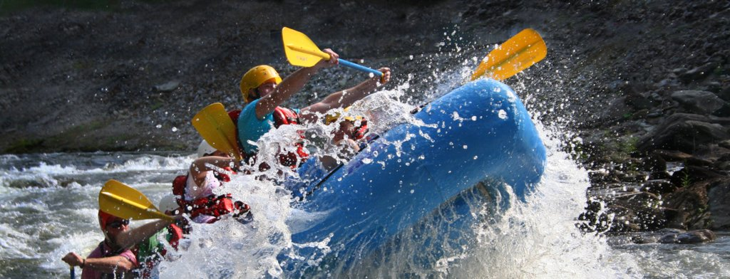 Go on a whitewater rafting adventure
