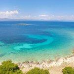 A beach on Korčula